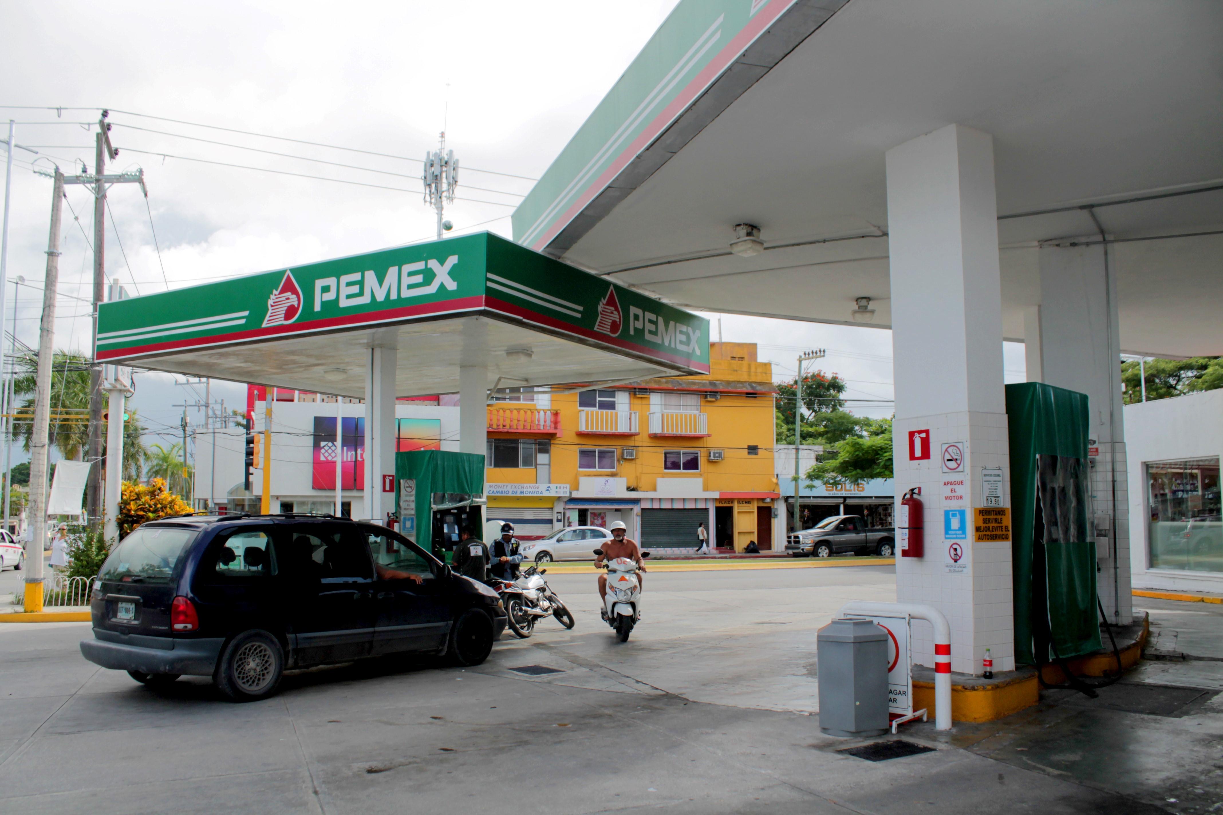 Gasolinería en Cozumel