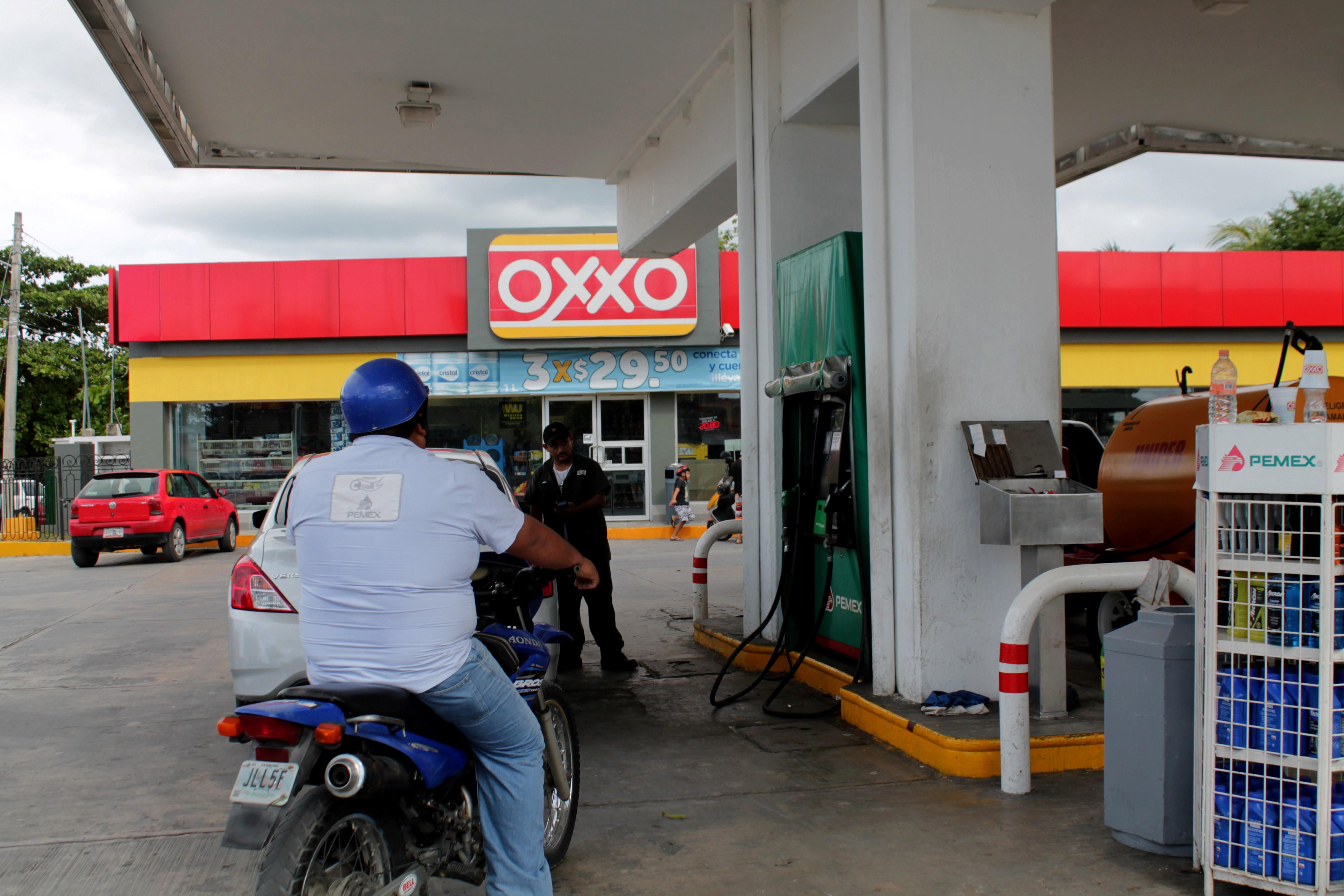 Gasolinería en Juárez