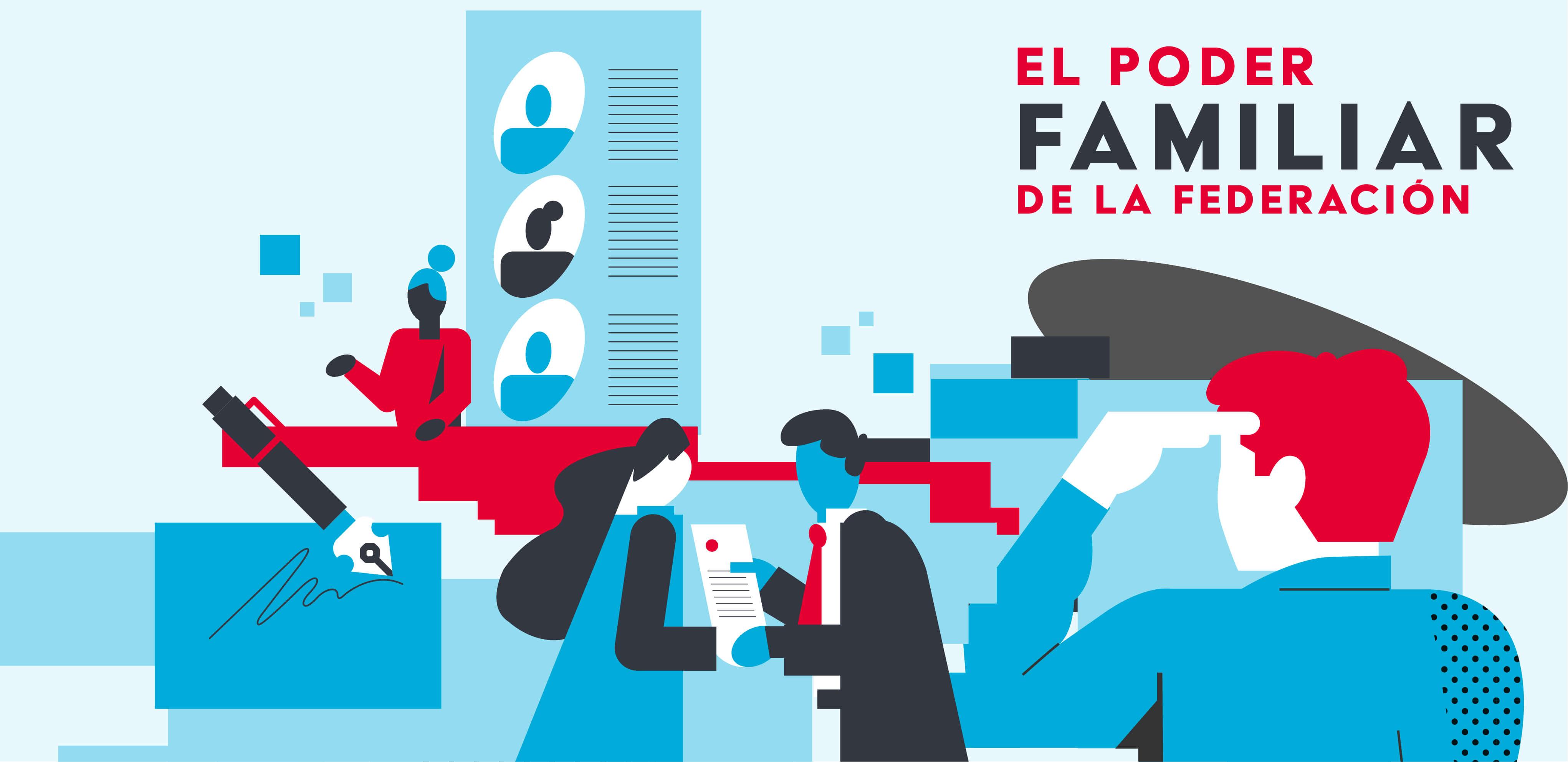 EL PODER FAMILIAR DE LA FEDERACIÓN