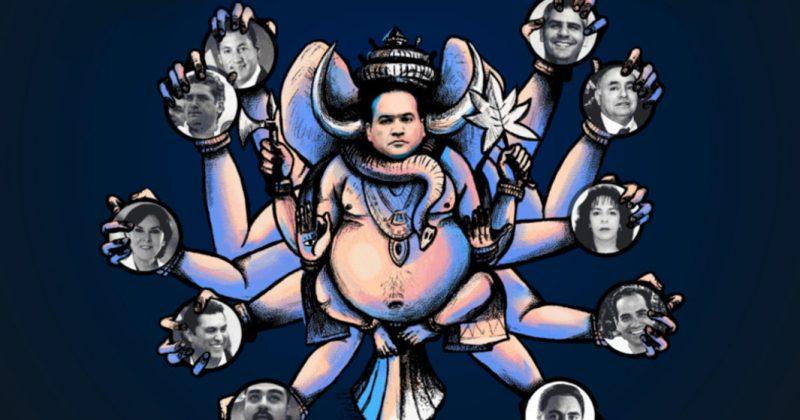 Surgen otras 45 empresas 'fantasma' de Javier Duarte