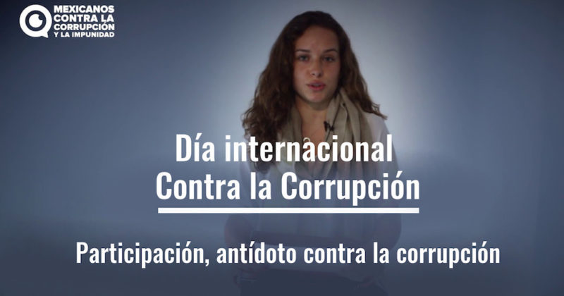 Participación, antídoto contra la corrupción