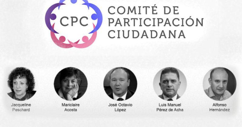 Respaldamos al nuevo Comité de Participación Ciudadana