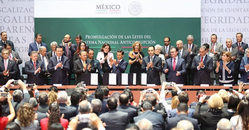 Mexicanos Contra la Corrupción exige mayor publicidad y transparencia al nombrar a funcionarios del Sistema Nacional Anticorrupción