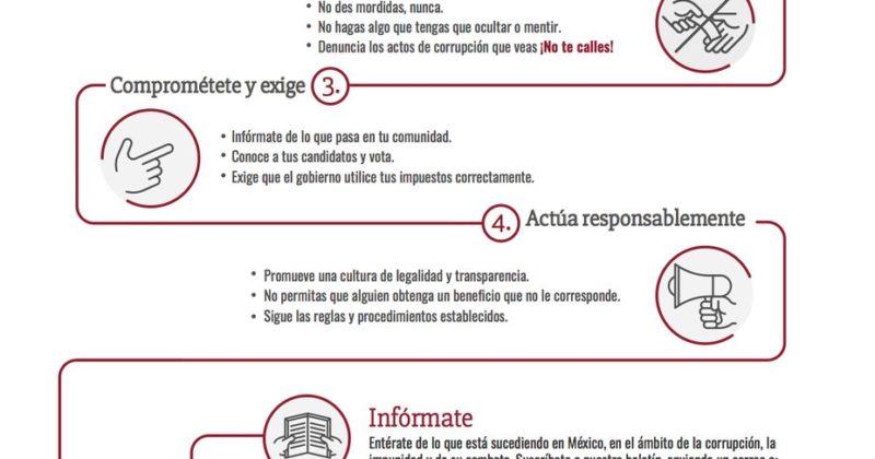 Principios de un Mexicano Contra la Corrupción y la Impunidad