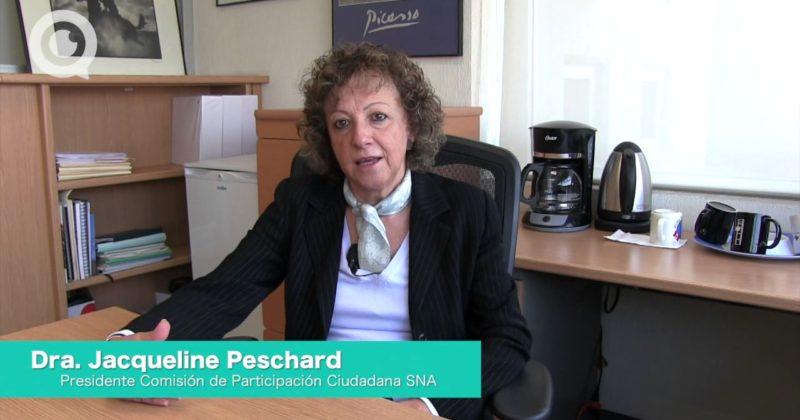 Así lo dijo: Dra. Jacqueline Peschard
