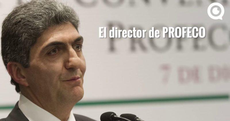 Gasolinazo: el titular de la PROFECO verifica a su familia