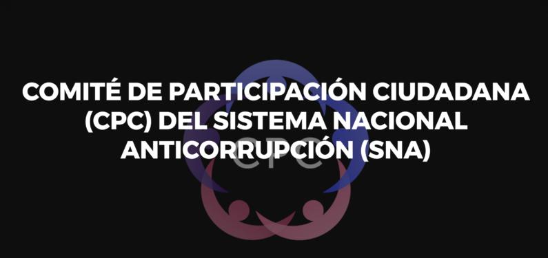 Comité de Participación Ciudadana propone vigilar recursos de reconstrucción