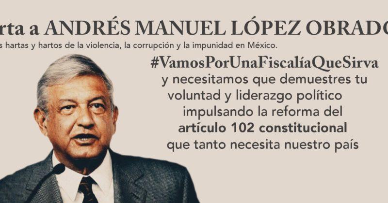 Carta a Andrés Manuel López Obrador