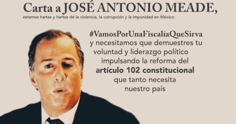 Carta a José Antonio Meade