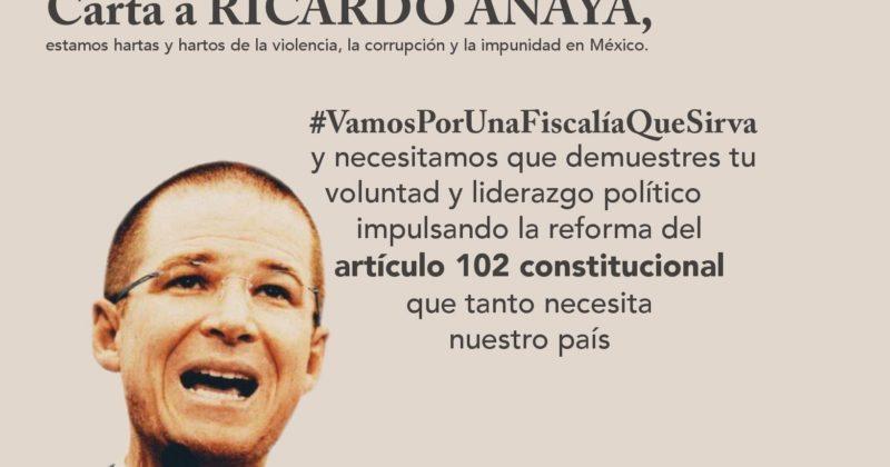 Carta a Ricardo Anaya