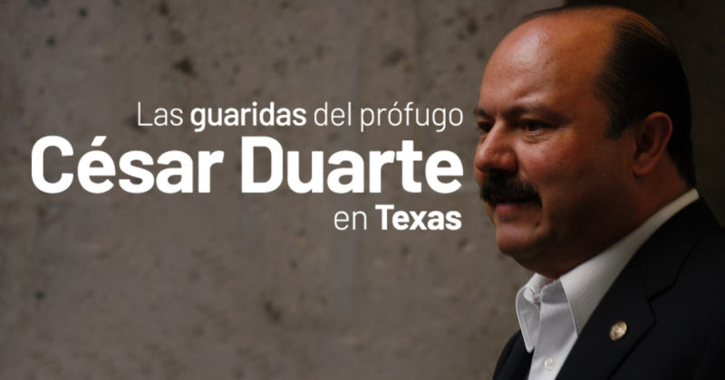 Las guaridas del prófugo César Duarte