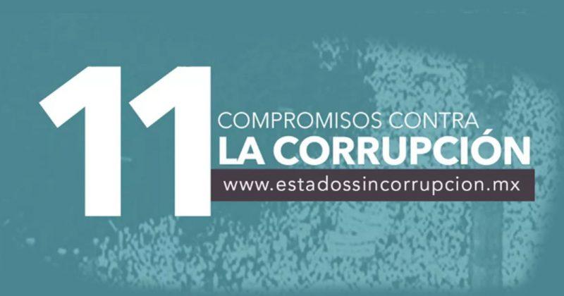 Sólo en Guanajuato, todos los candidatos han firmado los 11 compromisos contra la corrupción