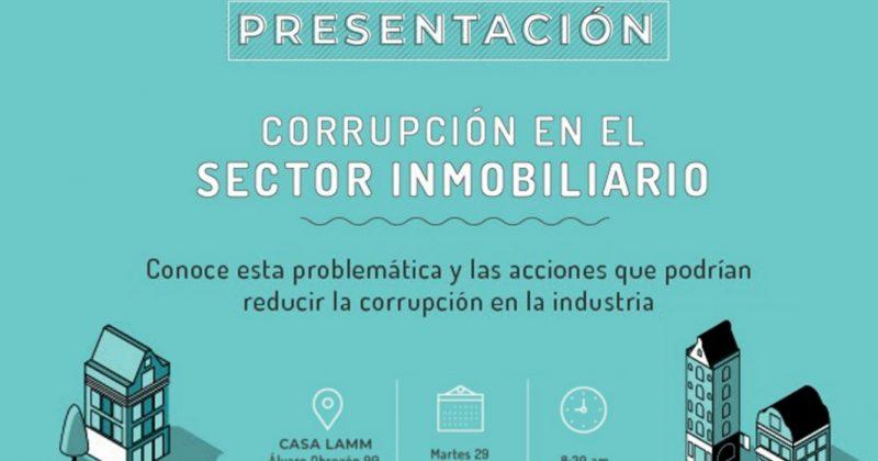Corrupción en el sector inmobiliario