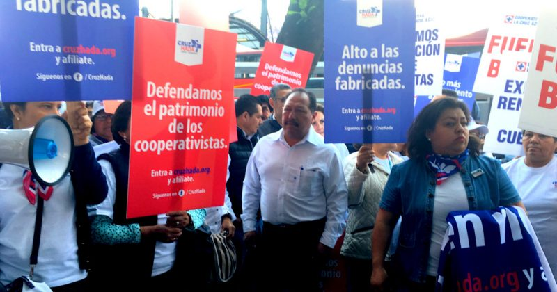 Presentan dos denuncias en FGR por operaciones irregulares en Cooperativa Cruz Azul