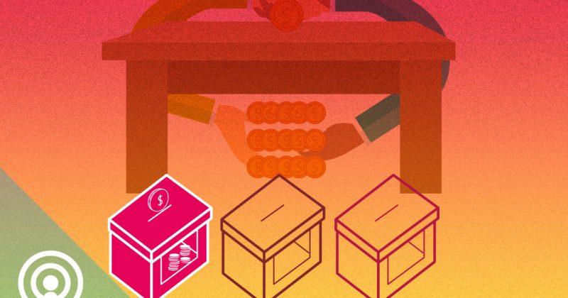 Dinero bajo la mesa: Financiamiento ilegal de campañas políticas