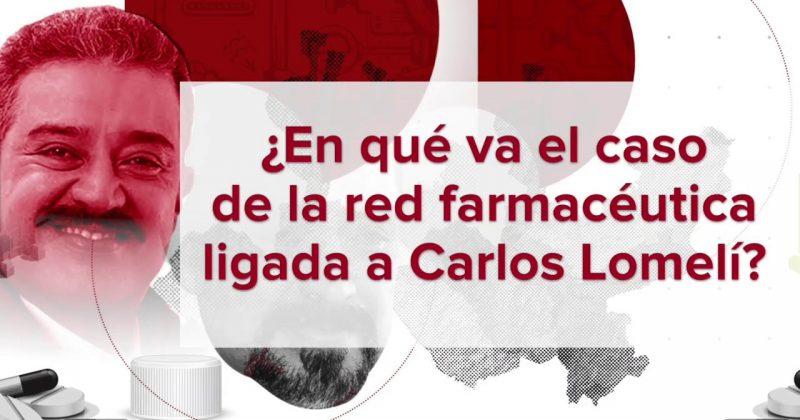 ¿En qué va el caso de la red farmacéutica ligada a Carlos Lomelí?