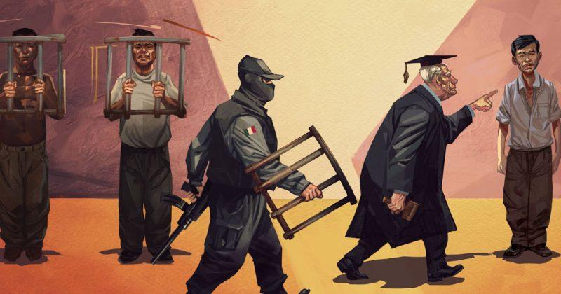 Edomex: Fabricación de culpables