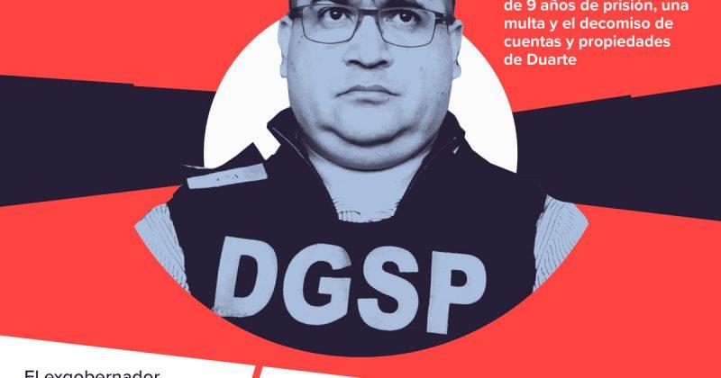 Suspenden la condena de Javier Duarte