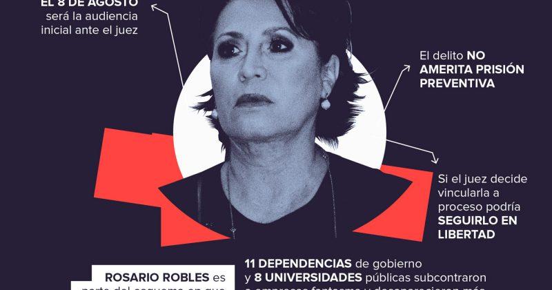 La Fiscalía busca a Rosario Robles por La Estafa Maestra
