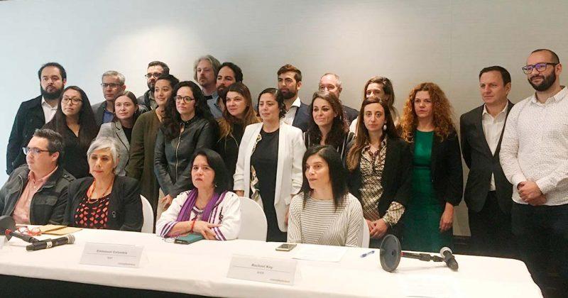 Estigmatización del presidente a la prensa perpetúa agresiones contra periodistas, advierte Misión Internacional de Libertad de Prensa