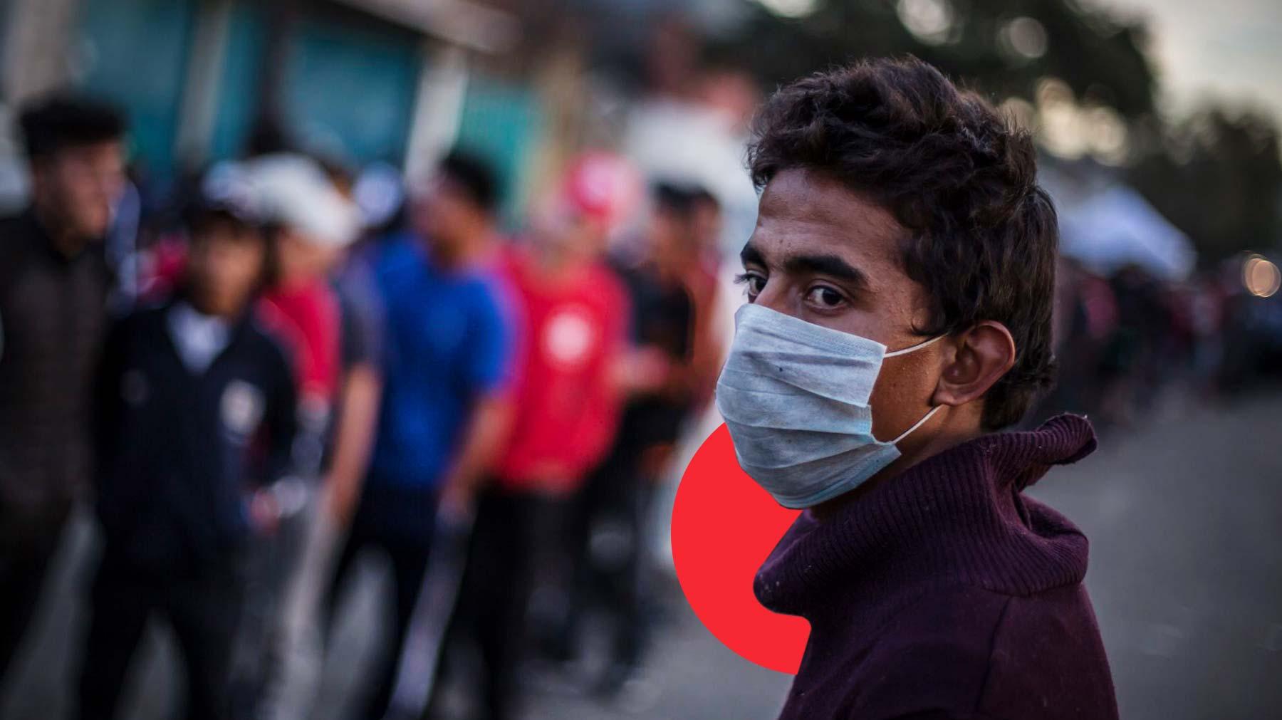 Migrantes quedan desamparados ante miedo a coronavirus