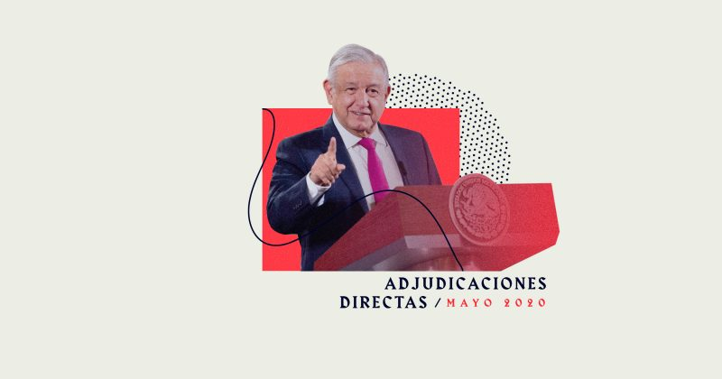Adjudicaciones directas: los primeros cuatro meses de 2020