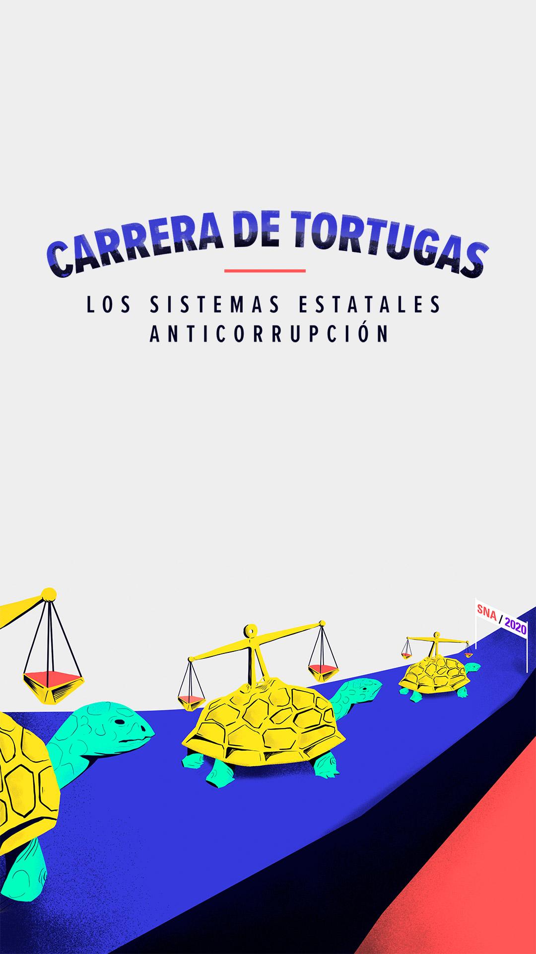 Carrera de tortugas: Los sistemas estatales anticorrupción