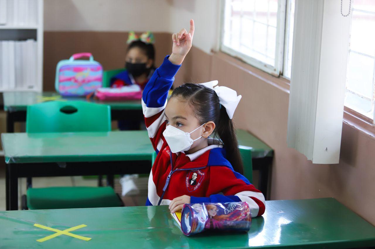 Subejercicio en el programa para mejorar las escuelas y tener un regreso a clases presenciales seguro