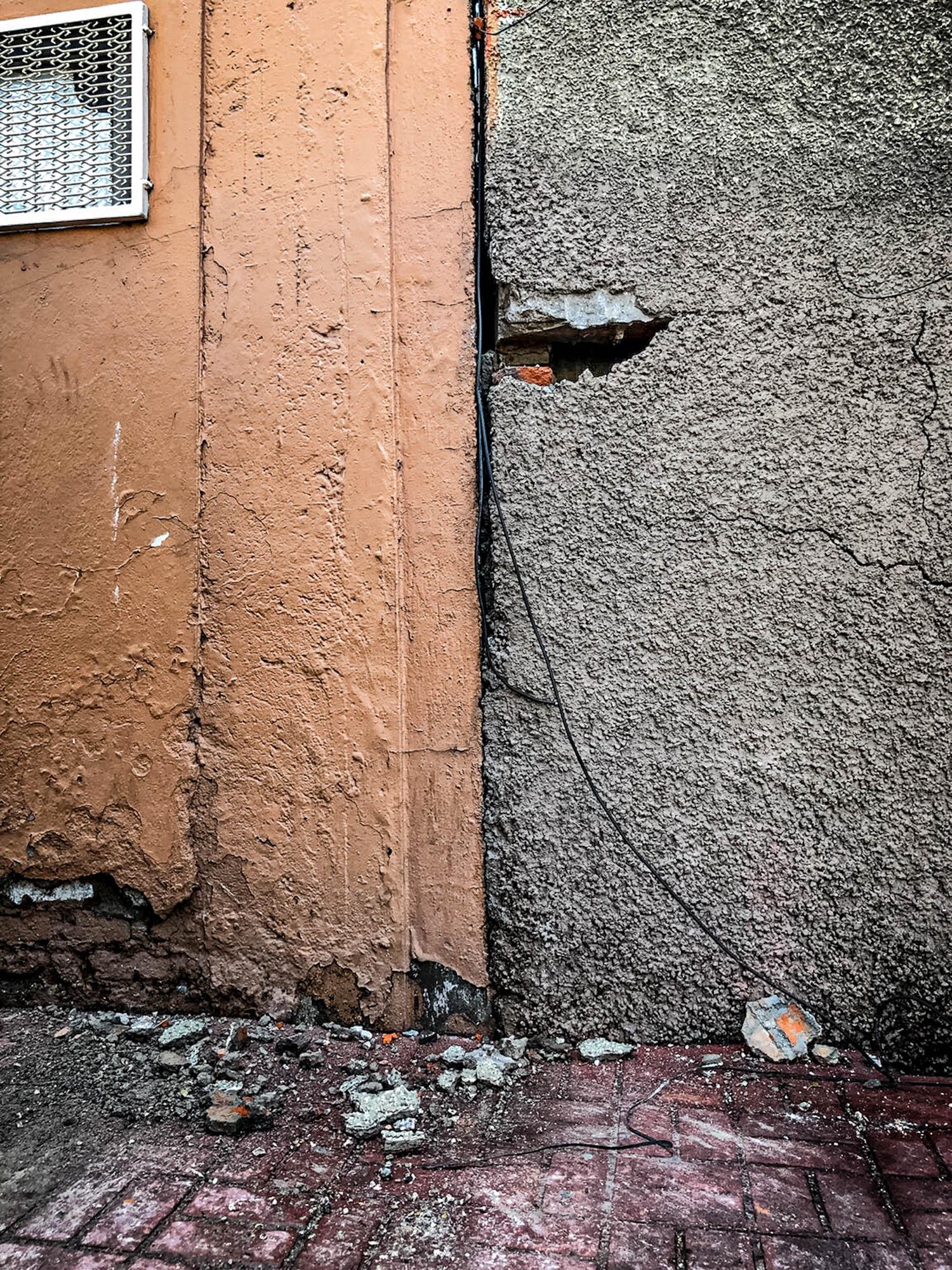 frente edificio sismo xocongo 2