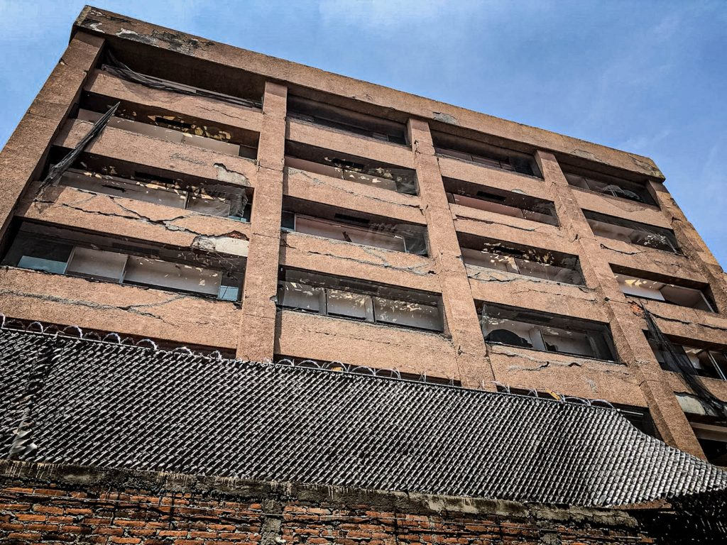 vista edificio sismo xocongo 1